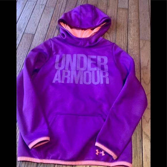 Girls M Under Armour Hoodie